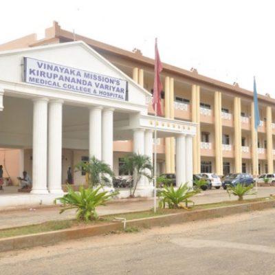 Vinayaka Missions Medical College Salem Neet Cutoff Rank Fees Admission